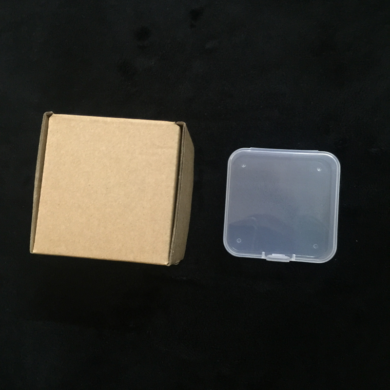 8.4 *8.4 *3cm size transparent very small <strong>plastic</strong> box