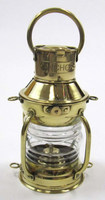 Brass Ship Lamp, Nautical Ship Lantern, Brass Anchor Marine Ship Lamp, Item number Sai-1960
