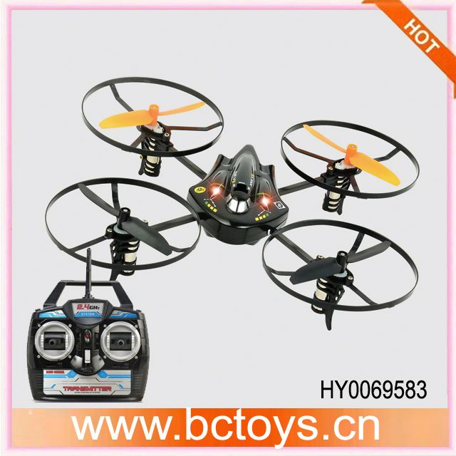 Hot sell stunt flying ufo 2.4g 4ch rc quad bike quadcopter for sale with gyro HY0069583