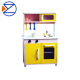 kids wooden toy kitchen play set