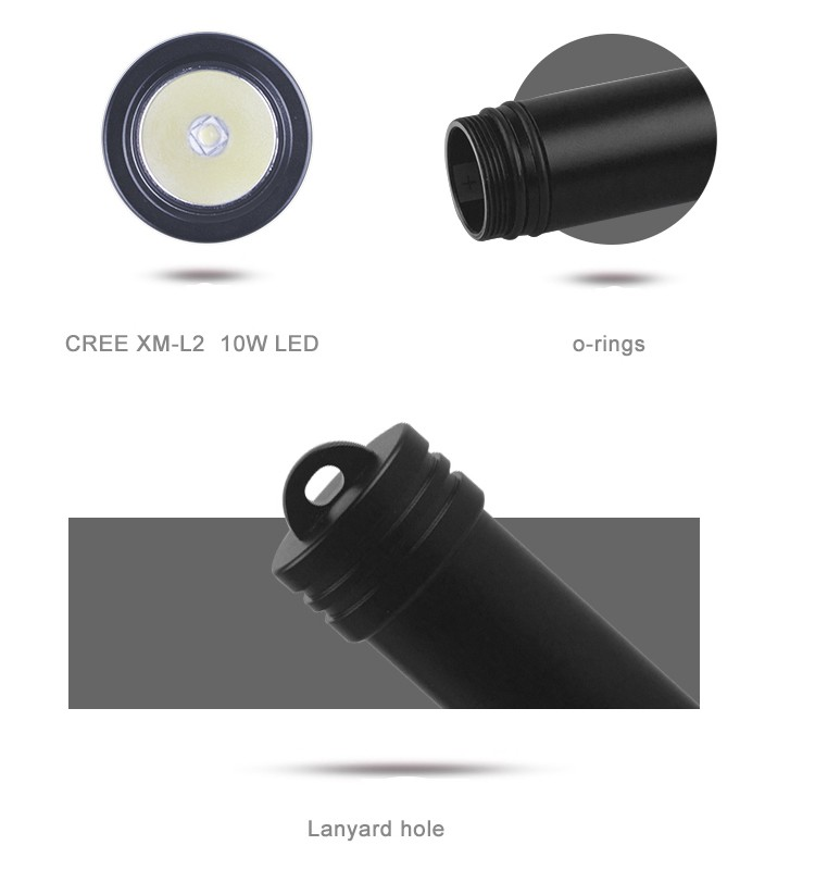 Hi-max X13 Small Diving Backup Light Suitable For Night Dive