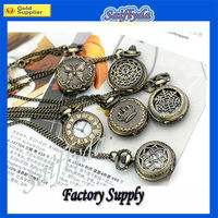 New fashionable girls pocket watches 9 style for you choose