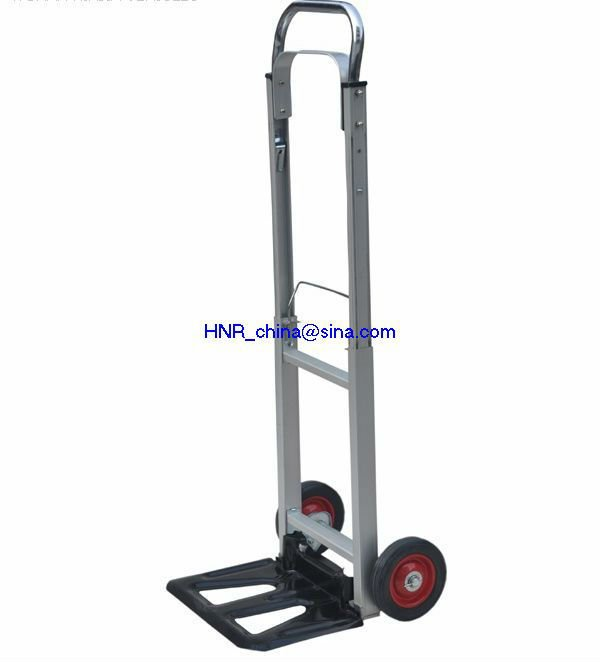 multi-purpose aluminium alloy hand truck / cart / trolly with capacity 90-100kgs