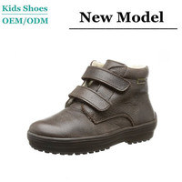wholesale unbranded soft unisex buckle up casual shoes cheap leather kids shoes