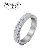wholesale high quality MOONSO men precious stone rings india men gold ring design stone men ring AR721