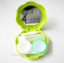China River Optical cheap contact lens cases solution bottle