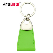 Wholesale hotel cheap custom compact leather car key holder
