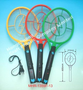 Electric Mosquito Racket With Power Cord