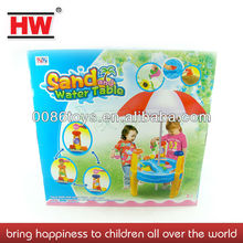 Outdoor sand and water play table kids beach toys