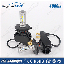8000LM 30W S1 H4 Auto car toyota vios headlight bulb