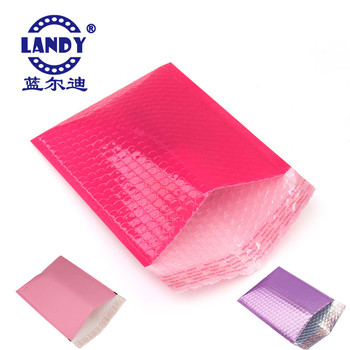 High quality pink plastic bubble mailing envelopes