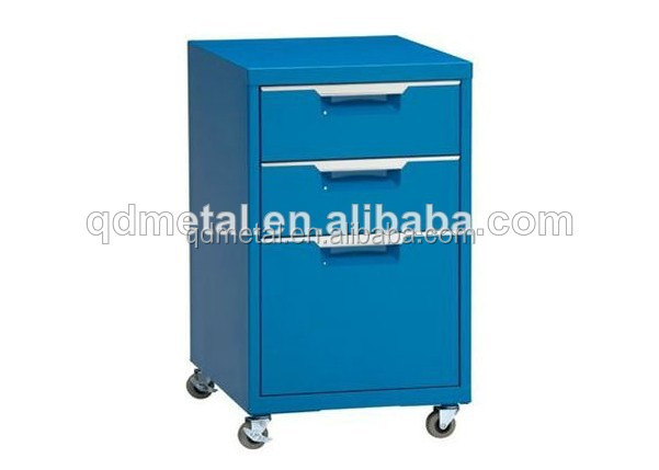 China purple fashion mobile bedside cabinet with drawers for sale from Metalworking factory