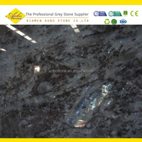 labradorite blue green granite slabs factory price