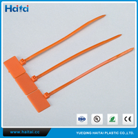 Haitai Factory Advanced Lead Sealing Cable Tie With Label For Warehouse Management