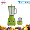 2017 R&D low cost high quality table stand chopper blender kitchen 4 speed 350W 1L glass 2 in 1 mixer grinder fruit juicer