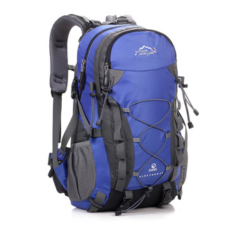 "Hotsale durable waterproof nylon stylish outdoor hiking custom backpack, mountaineering backpack with 15.6"" laptop compartment"