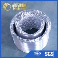 New coming unique design pre-insulated pu/pir/phenolic ac ducting with good offer