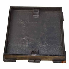 Ductile iron Square recessed cement filled Manhole Cover EN124 A15 with lock