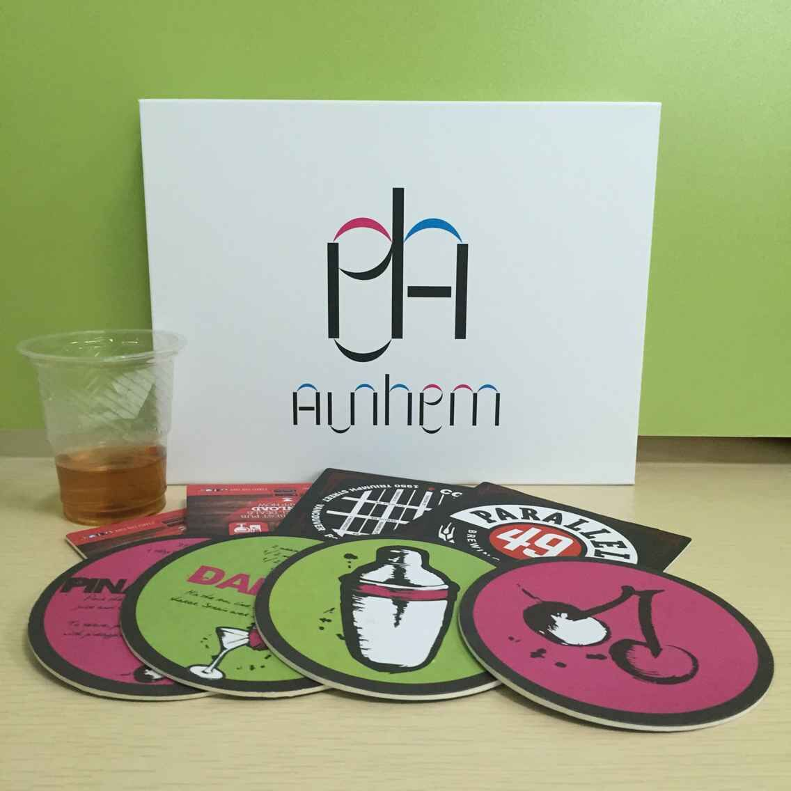 Wholesale hotel paper coaster beer coaster funny face coaster with customized LOGO printing, IC-082