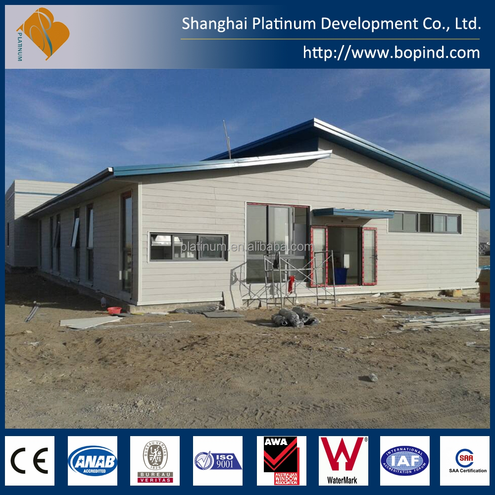 Economic prefabricated building with steel structure