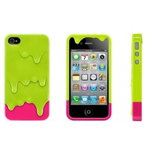 Hard back melting ice cream cover case for iphone 4 4s