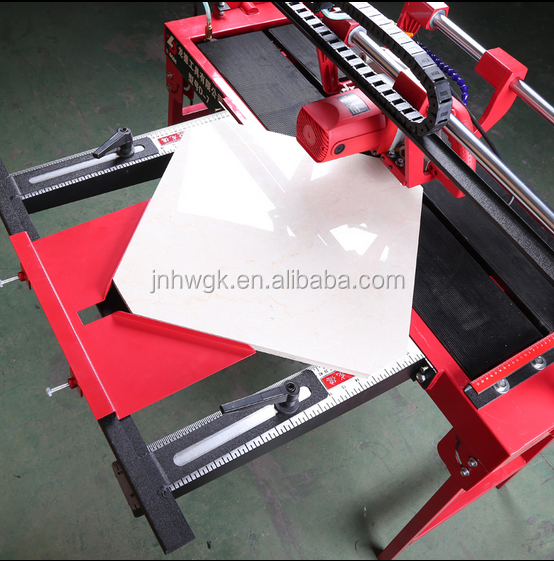Electric tile saw / stone cutting machine for marble