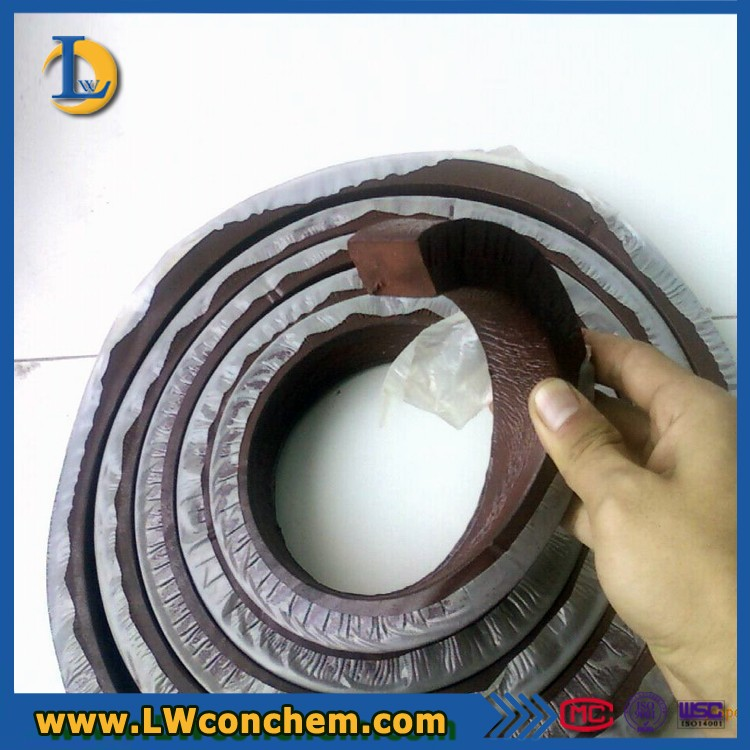Swell Rubber Waterstop Bar With Concrete Joint Industry
