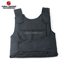 LIGHTWEIGHT NIJ IIIA PE ARAMID MILITARY BULLETPROOF VEST WITH PLATE INSERTS