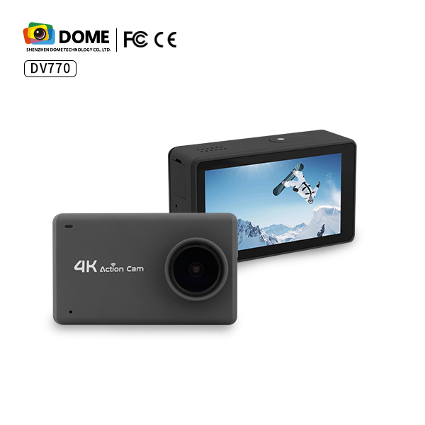 New arrival factory OEM Touch screen 2.45 inch Sport 4K Mini action sport Camera
