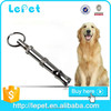 Stop barking dog ultrasonic dog training metal dog whistle with key finder