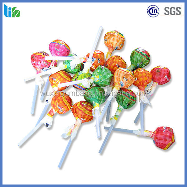 Best quality OEM hot choclate fruit pop lollipop