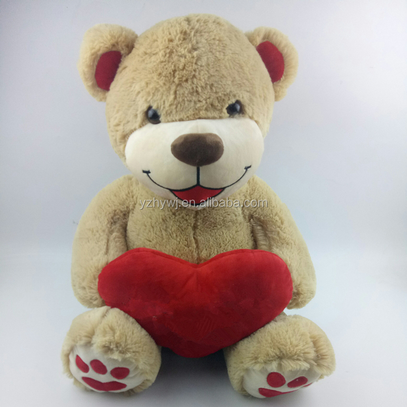 custom teddy bear i love you plush 60cm valentine bear stuffed toy