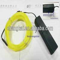 3M Flexible Neon Light EL Wire Rope Tube with Controller