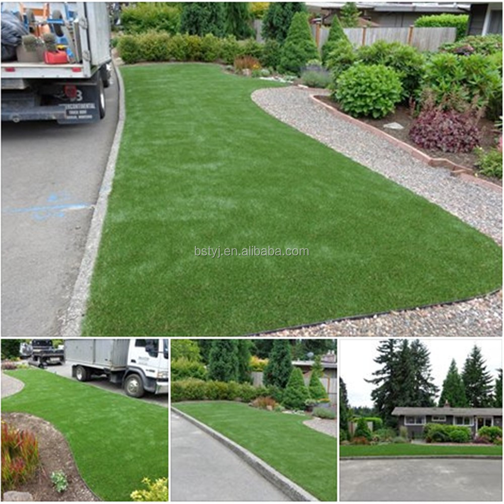 Imported Sabic PE material artificial grass turf lawn