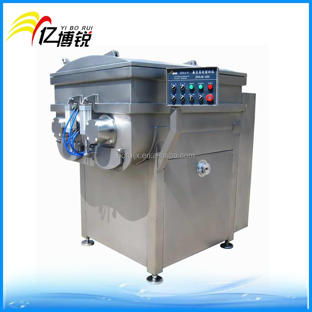 vacuum meat mixer machine/blender machine/sausage meat mixer for sale