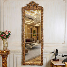 PU660 Antique Gold Decorative Wall Hanging Art and Craft Mirror