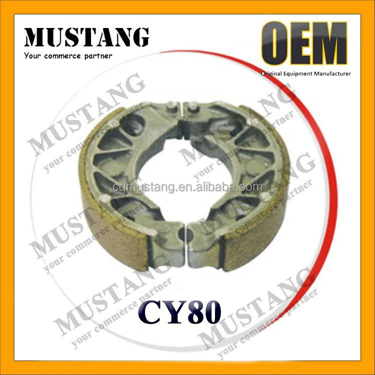 Good Quality CY80 Motorcycle Brake Shoe for CY80 Motorcycle