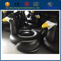 2016 hot summer pool float for adults and children black inflatable duck float