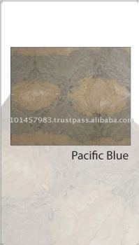 Hot Sale Polished Pacific Blue Marble Slab