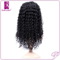 Indian Remy Kinky Curl Full Lace 100 Human Hair Wigs For African Americans