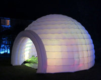 Inflatable Temporary Structures