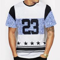 Wholesale Printing Men Women Black Custom Cotton T Shirt With Your Design