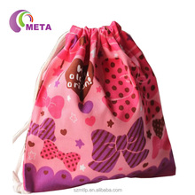 Hot Sale Custom Small Drawstring Jute Bags Wholesale Lined
