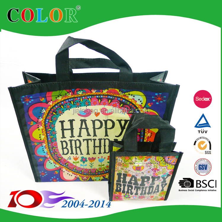 eco friendly RPET gift bags, recycled pet tote bags