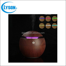 2016 Wholesale Aromatherapy Wood Grain Ultrasonic USB Oil Diffuser