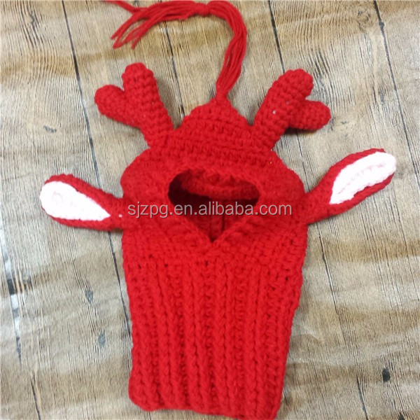 Free Reindeer Hat Crochet Pattern For Dogs : Crochet Reindeer Antlers Dog Apparel Hat - Buy Reindeer ...