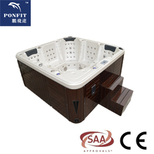 90 jets luxury outdoor hot tub spa with HDTV