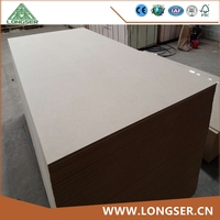 Factory price 1220*2440mm high desity thin plain mdf sheet