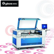 plastic paper craft co2 tube laser cutting /label printer laser cutter for multitasking purpose