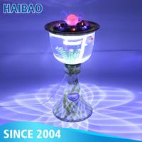 Three Kinds Of Fountain Flower Shape Round Tea Table Fish Tank